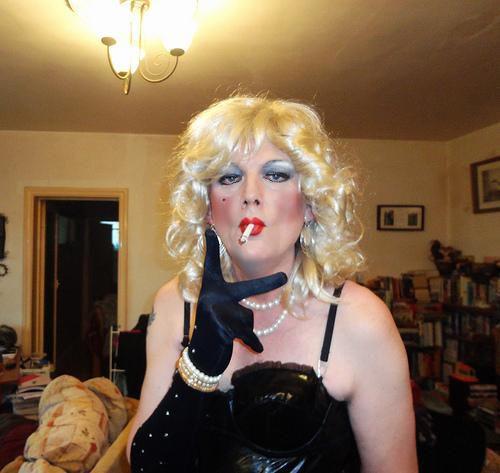 BBW SISSY DIANE SLUTTY Make-up RAUCH
