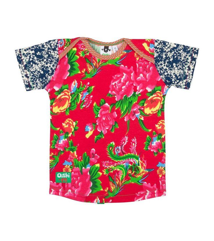 Paper Crane Shortsleeve T Shirt, Oishi-m Clothing for kids, Summer 2016, www.oishi-m.com