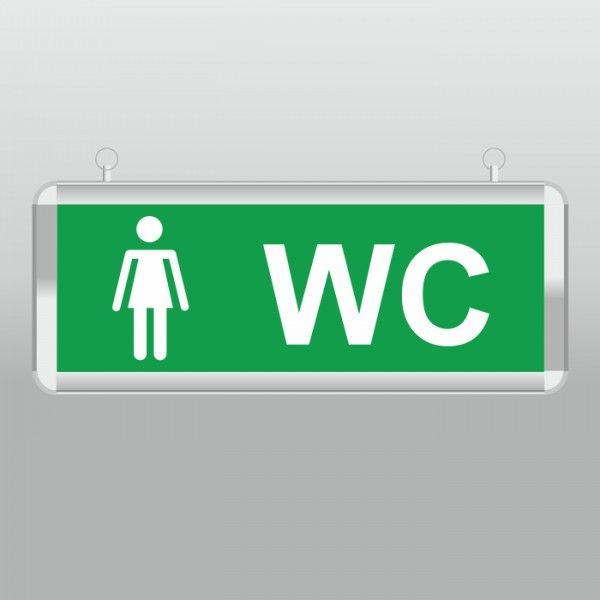"""Световой указатель """"туалет женский"""" MBD-200 E-32"""