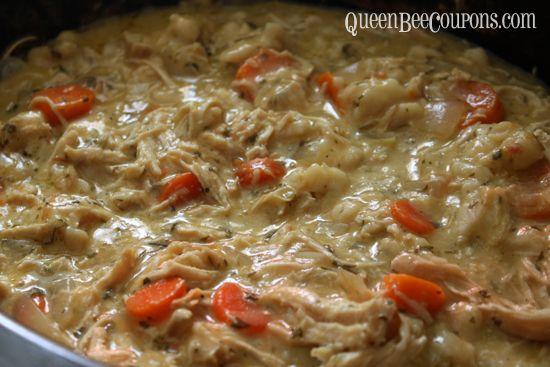Slow Cooker Chicken and Dumpling Soup recipe
