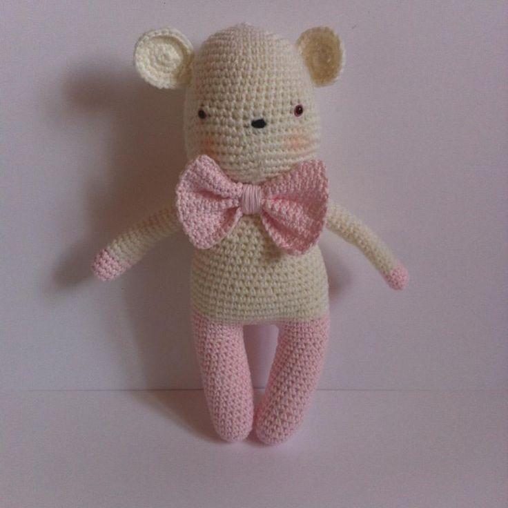 Petite souris au crochet. Modèle de Tournicote Tendre Crochet 2