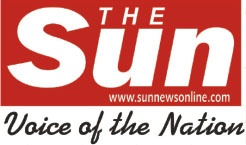 """The Sun Newspaper: Site for the print newspaper targeted at young adults. Published by The Sun Publishing Ltd. """"The Sun Publishing Limited was incorporated on March 29, 2001 to undertake the business of printing and publishing. The company's The Sun title joined the swelling ranks of the ever-vibrant Nigerian press on Saturday, January 18, 2003 as a weekly and June 16, 2003 as a daily. http://www.sunnewsonline.com/"""