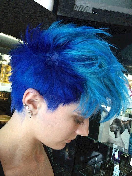 Blue hair - Wikipedia