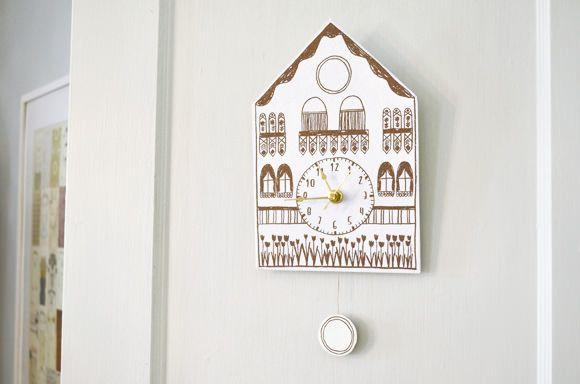 DIY Free Printable Cuckoo Clock - Great Christmas Gift