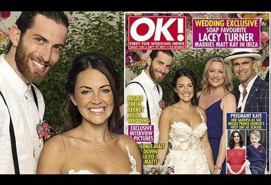 EastEnders' Lacey Turner marries childhood sweetheart