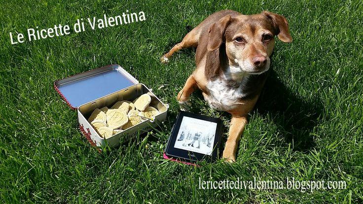 """Le Ricette di Valentina: MANGIA CIO' CHE LEGGI # 30: Biscottini per cani Homemade ispirati a """"Te lo dico sottovoce"""" di Lucrezia Scali"""