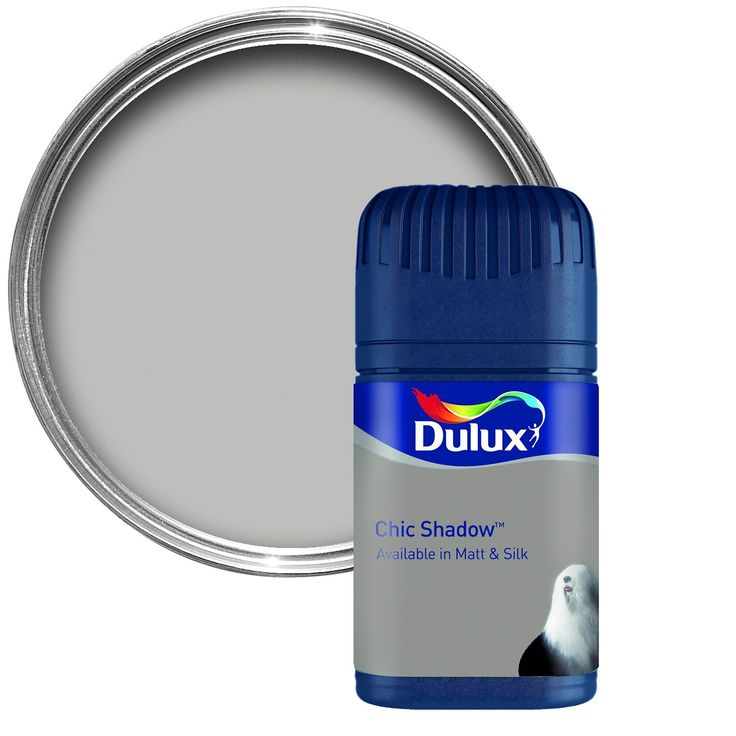 Dulux Chic Shadow Matt Emulsion Paint 50ml Tester Pot   Departments   DIY at B&Q