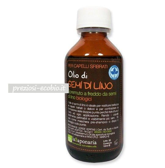 La Saponaria - Olio di Semi di Lino Bio