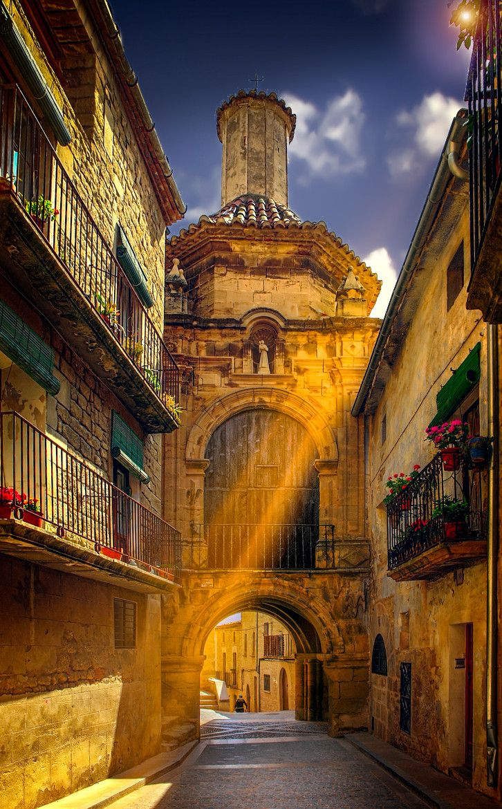 Town of Calaceite, Aragon - Spain