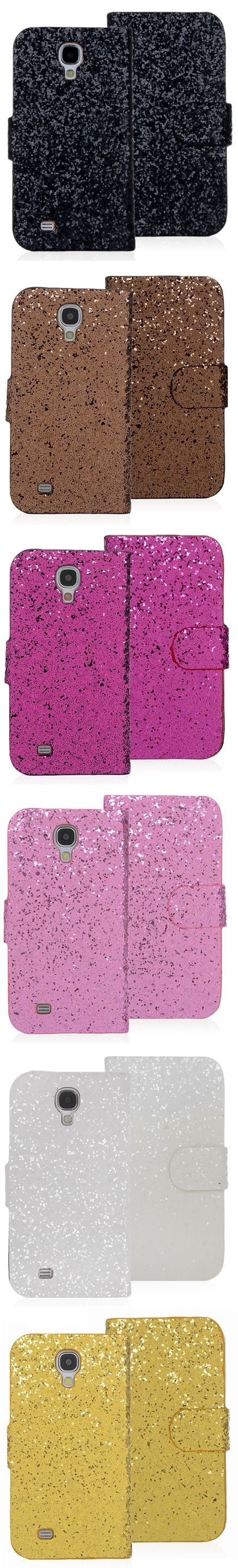 Fashion Glittering PU Leather Shiny Wallet Case Cover For Samsung Galaxy S4 S IV i9500 Solid Metallic Galaxy S4 Case Metal Finish Back Cover Case For Samsung Galaxy S4 S IV i9500 $8.72 #samsungcase #galaxyS4 #samsung #covercases #protectivecase #galaxyS4case #android #cellz.com #bestcases #freeshipping #discount #promotioncases #fashion #smartphone #accessories #glamour #glittercases