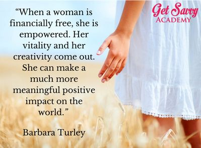 Get more financial wisdom from the gorgeous, Barbara Turley by checking out her FREE videos here: www.getsavvyacademy.com  #EnergiseWealth #GetSavvy #WomeninBiz #WomenandMoney