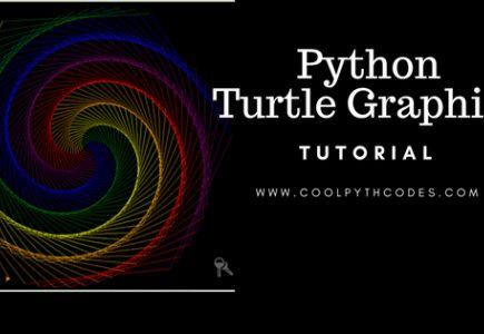 Python turtle drawing tutorial