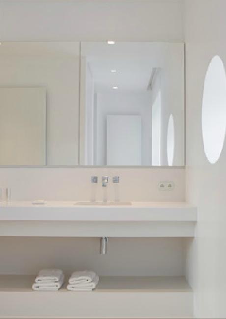 Bathroom in Kortrijk, Belgium by Isabelle Onraet