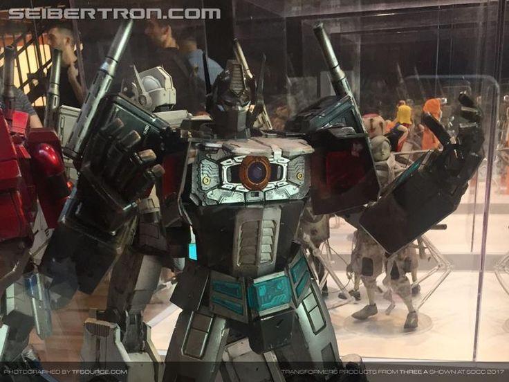 SDCC 2017: New photos of Hasbro 3A G1 Optimus Prime, Ultra Magnus, Nemesis Prime, DOTM Optimus Prime
