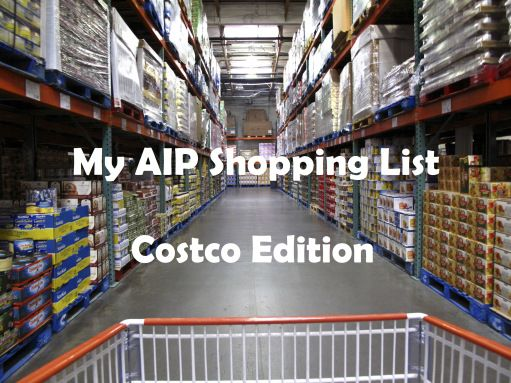 AIP Costco Shopping List | Where the Wild Rose Grows