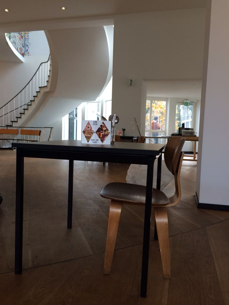 Eames Plywood Chair @ van Eyck - lovely Place for a tasty lunch @ Maastricht. www.janvaneyck.nl