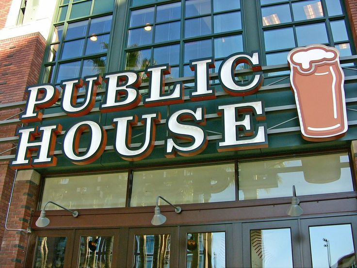 Public House In Front Of ATT Park Home The SF Giants