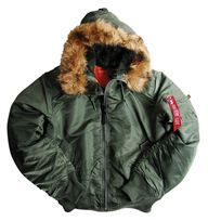 Alpha Hooded MA-1 Flight Jacket -- Barre Army/Navy Store Online Store $105