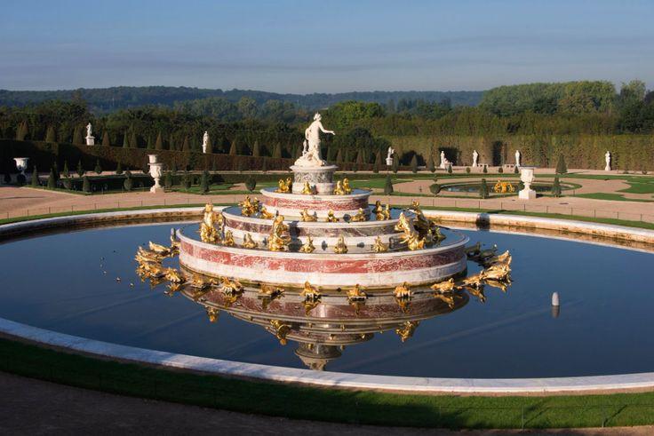 Lumi re matinale sur le bassin de latone epv thomas garnier france pinterest - Jardin chateau de versailles horaires ...