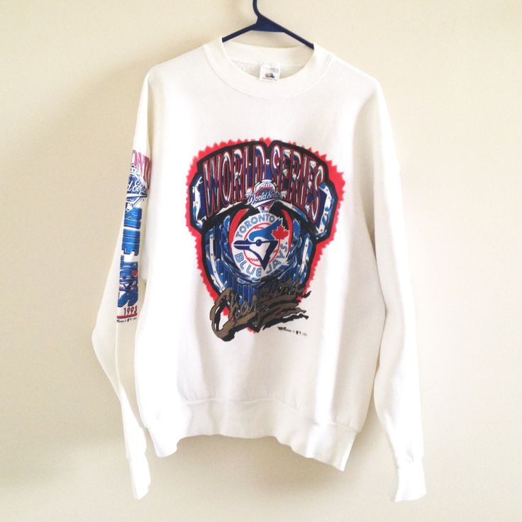 Toronto Blue Jays World Series Sweatshirt by ThingsIBuyForYou on Etsy