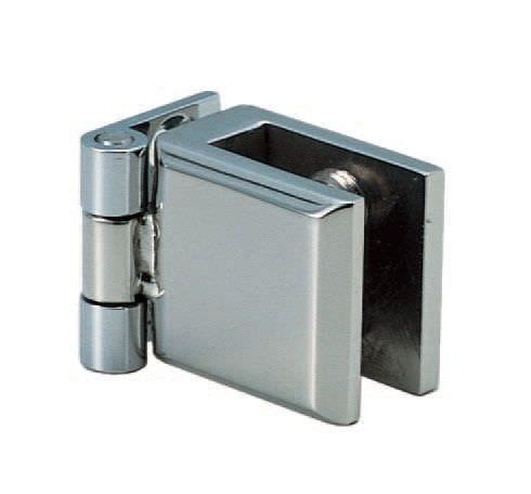 Bisagra para soldar / 90° / de acero inoxidable / para puertas de cristal XL-GH01-250 SUGATSUNE KOGYO CO., LTD.