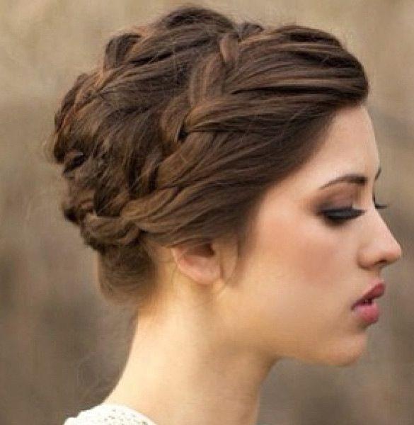 Wedding Hair French Braid: Updo French Braid