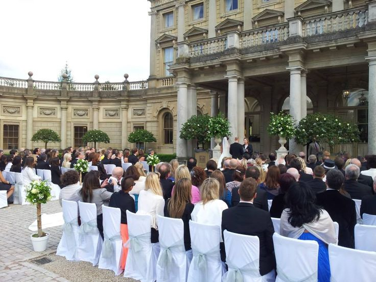 Cliveden House Outdoor Wedding Ceremony designed and conducted by Diana Saxby www.gracetheday.com