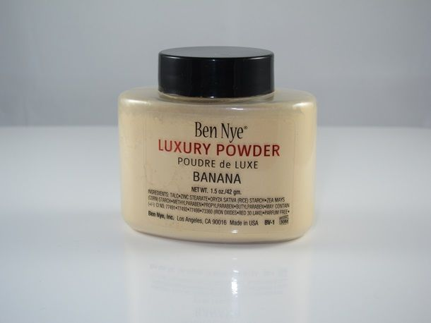Ben Nye Banana Luxury Powder- my fave setting powder of all time!