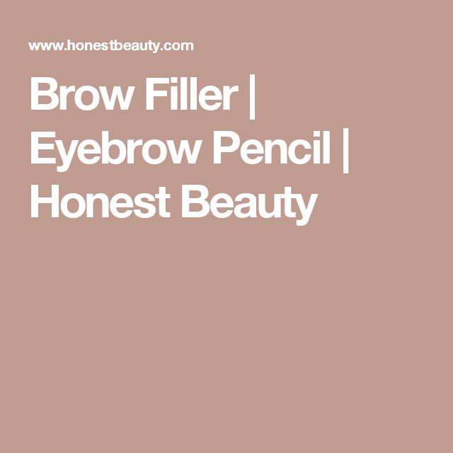 Brow Filler   Eyebrow Pencil   Honest Beauty