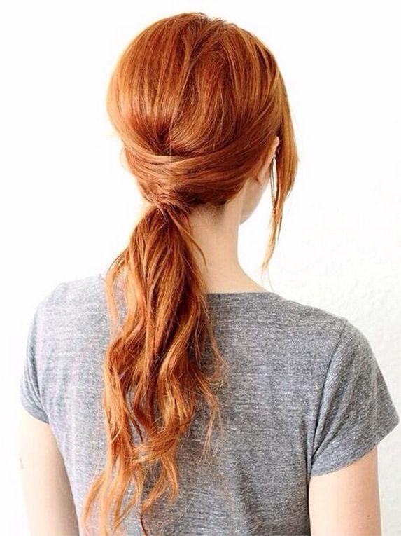 Fancy ponytail