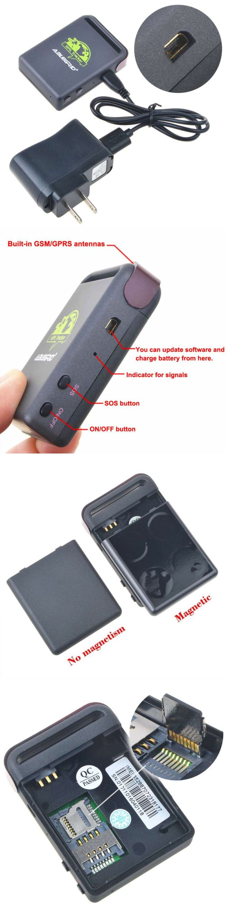 Tracking Devices: Gps Tracker Gsm Hidden Device For Tracking Personal Locator Car Vehicle Boats BUY IT NOW ONLY: $31.15