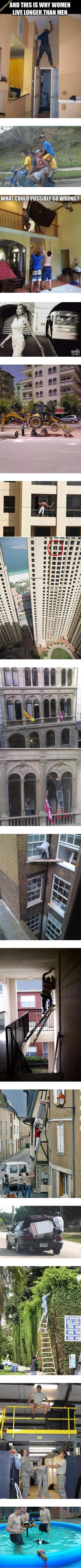 And This Is Why Women Live Longer Than Men ... | omg the last one
