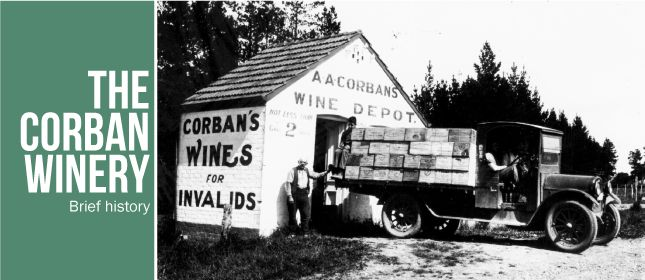 Read a history of the Corban Winery by downloading at http://www.ceac.org.nz/about_ceac/a_brief_history_of_the_corban_winery.aspx