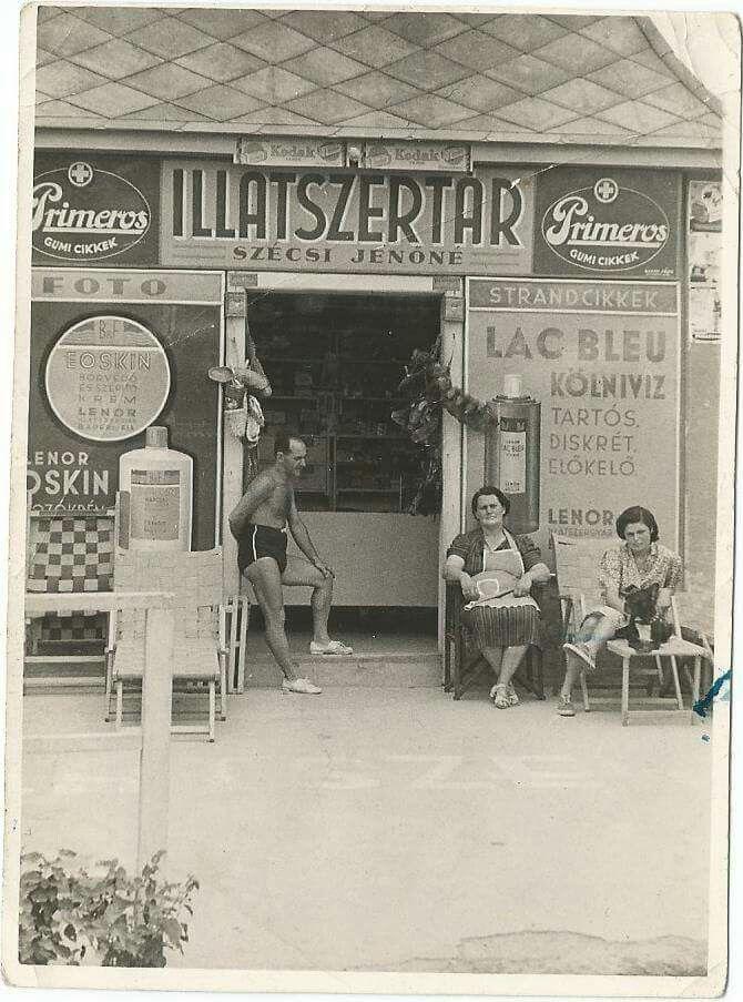 1940 körül, Római Part.
