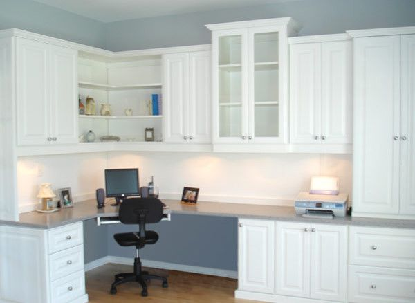 Lateral File Cabinet Home Office Traditional with Built in Storage Corian Countertops Corner Desk Designer Home Office Desk Glass Door