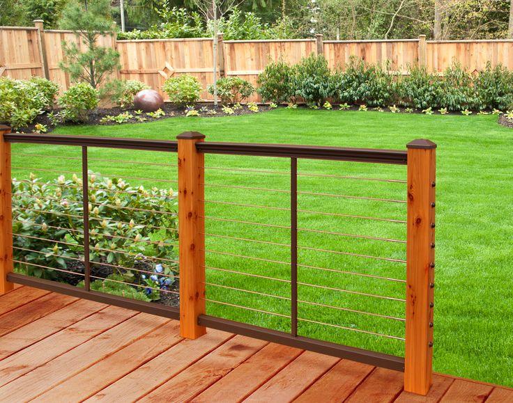 Feeney DesignRail aluminum deck railing kits