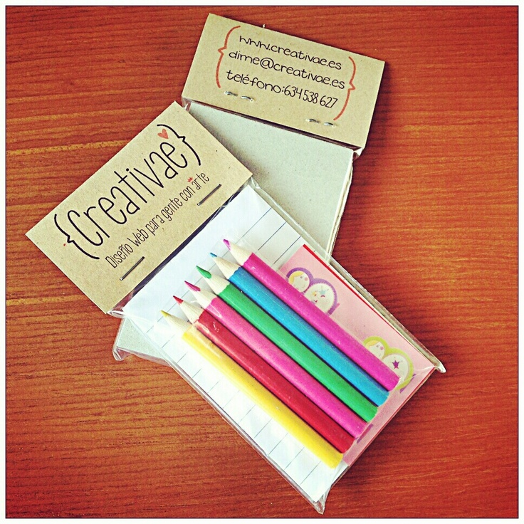 #Tarjetas de visita Creativae #business #card