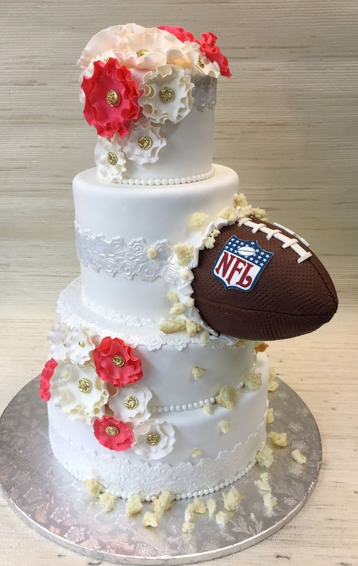 Top 25 Best Football Grooms Cake Ideas On Pinterest