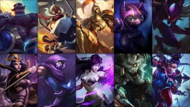 #lolnews : Free week rotation for you  #games #onlinegames