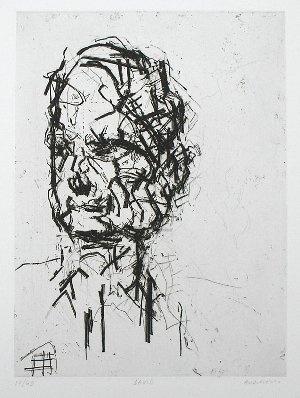 Frank Auerbach - David Landau - Nicholas Gallery