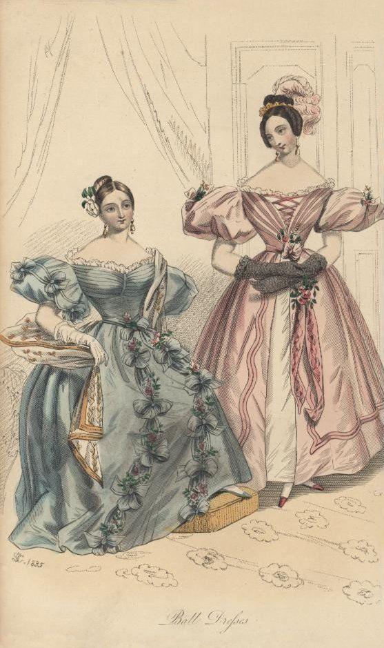 1834 - Ball Dresses - Court Magazine