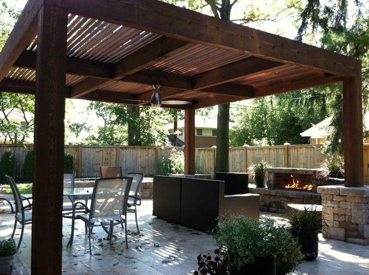 best 25+ pergola design plans ideas on pinterest | corner patio ... - Patio Pergola Ideas