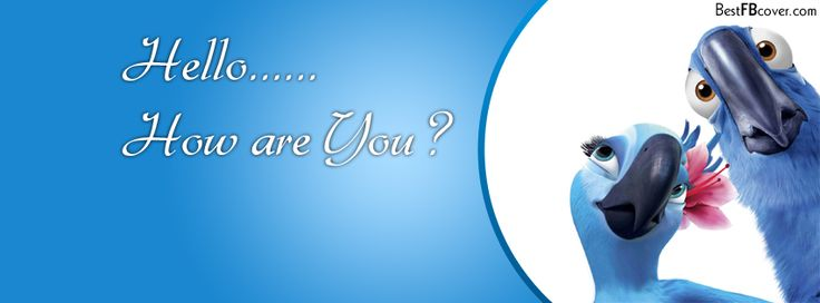 Hello How Are You Facebook Timeline Cover | FB cover