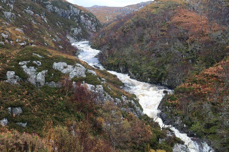 a burn in the Scottish Highlands