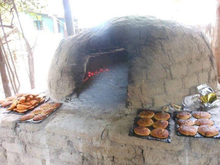 horno casero para cocer pan