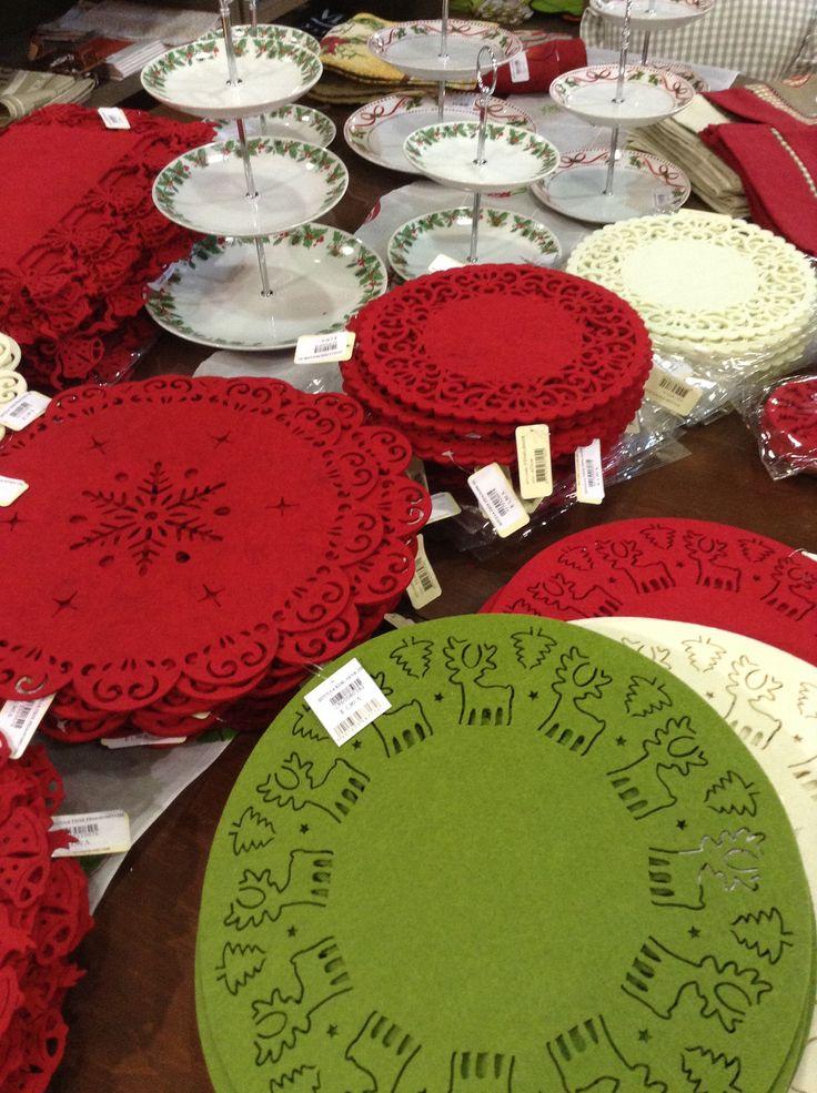Σουπλακαι σουβερ με Χριστουγεννιατικα θεματα για γιορτινα Τραπεζια