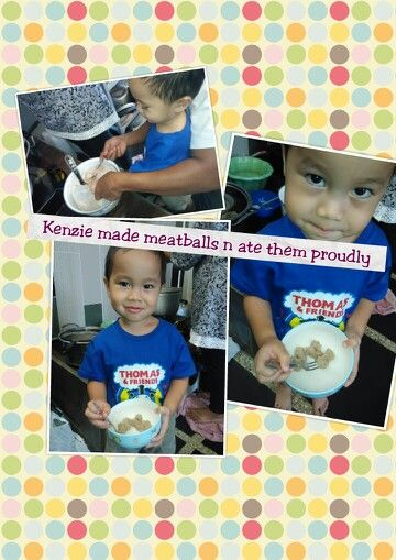 Try to make meatball