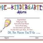 Pre-K and Kindergarten Graduation Diploma