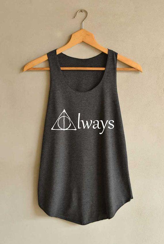 Immer Größe Shirt Harry Potter Shirts Tank Top von blackpearlmaker