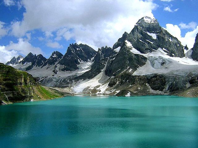 Chitta Katha Lake in Shounter, Neelum Valley Azad Kashmir, Pakistan